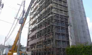 マンションリフォーム工事現場:福岡・北九州のハウスメーカー株式会社イコーハウス