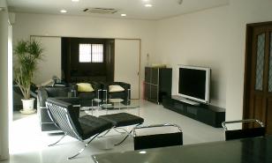 八幡東区リフォーム実績リビング:福岡・北九州のハウスメーカー株式会社イコーハウス