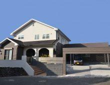 戸畑区新築洋風邸宅外観:福岡・北九州のハウスメーカー株式会社イコーハウス