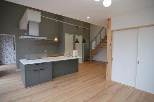リビングからキッチン・和室戸:福岡・北九州のハウスメーカー株式会社イコーハウス