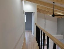2階廊下・勾配天井:福岡・北九州のハウスメーカー株式会社イコーハウス