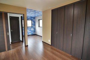 将来二部屋に分割できる洋室:福岡・北九州のハウスメーカー株式会社イコーハウス