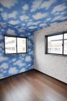 空雲の天井・壁クロス:福岡・北九州のハウスメーカー株式会社イコーハウス
