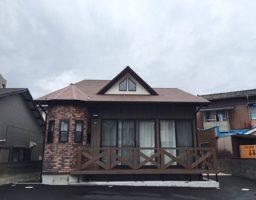 住宅洋風外観1.円形塔屋風の空間と屋根窓:福岡・北九州のハウスメーカー株式会社イコーハウス