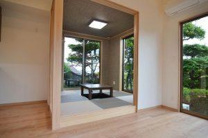 お庭が映える和室・リビング:福岡・北九州のハウスメーカー株式会社イコーハウス