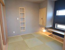 和室・モダンな造り付け机:福岡・北九州のハウスメーカー株式会社イコーハウス