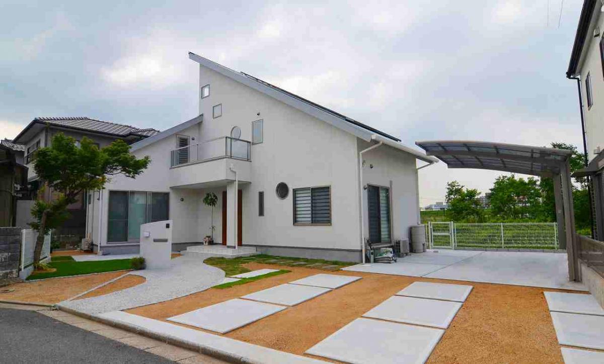 一戸建て新築注文住宅外観:福岡・北九州のハウスメーカー©株式会社イコーハウス
