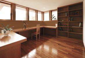 スタディコーナー書斎 個性的なハイクラス戸建て オーガニックハウスブランド 北九州市 イコーハウス