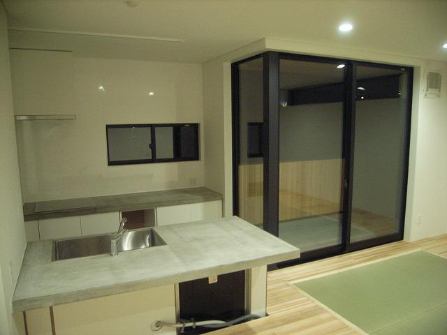 リノベーションキッチン・ベランダ施工例:福岡・北九州のハウスメーカー株式会社イコーハウス