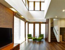 北九州吹抜けリビング大窓|新築注文住宅オーガニックハウスブランド|イコーハウス