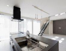 北九州キッチンリビング吹抜け大窓の新築注文住宅オーガニックハウスブランド イコーハウス