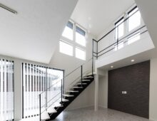 北九州リビング吹抜け大窓の新築注文住宅オーガニックハウスブランド イコーハウス