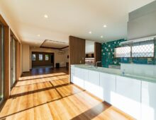 北九州 対面キッチン大窓採光|新築注文住宅ブランド|イコーハウス