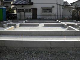 中間市 新築住宅基礎工事仕上 北九州市イコーハウス施工新築