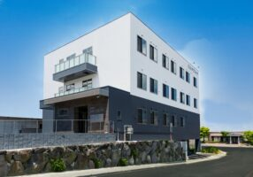 北九州市若松 整形外科クリニック建築 外観