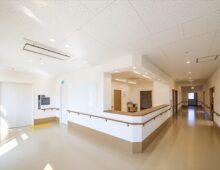 北九州市若松 整形外科クリニック建築 ナースステーション