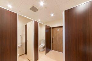 北九州市若松 整形外科クリニック建築 トイレ