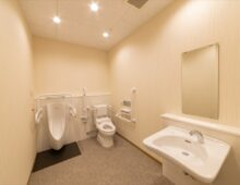 北九州市若松 整形外科クリニック建築 多目的トイレ