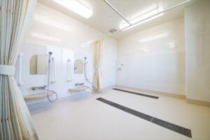北九州市若松 整形外科クリニック建築 特別浴室